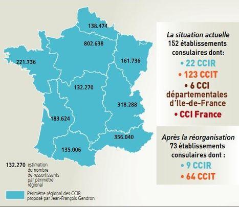 Le Journal des entreprises - National - France. Vers une réduction drastique du nombre de CCI ? | Passion Entreprendre | Scoop.it