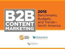 New B2B Content Marketing Research: Focus on Documenting Your Strategy | Content Marketing | Scoop.it