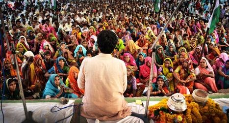 14 millions de sans-terres indiens marchent derrière le nouveau Gandhi   Association solidaire, aide alimentaire , aide aux personnes en difficulté   Scoop.it