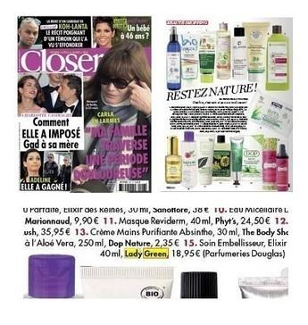 Closer pour Lady Green   Beauty Push, bureau de presse   Scoop.it