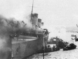Paquebot. Il y a 70ans, l'incendie du Normandie | GenealoNet | Scoop.it