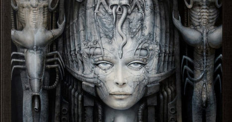 A Disturbingly Beautiful Tribute to the Work of H.R. #Giger, Creator of #Alien's #Xenomorph | Limitless learning Universe | Scoop.it