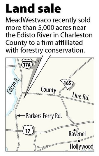 MeadWestvaco sells nearly 5,400 acres of East Edisto tract   Timberland Investment   Scoop.it