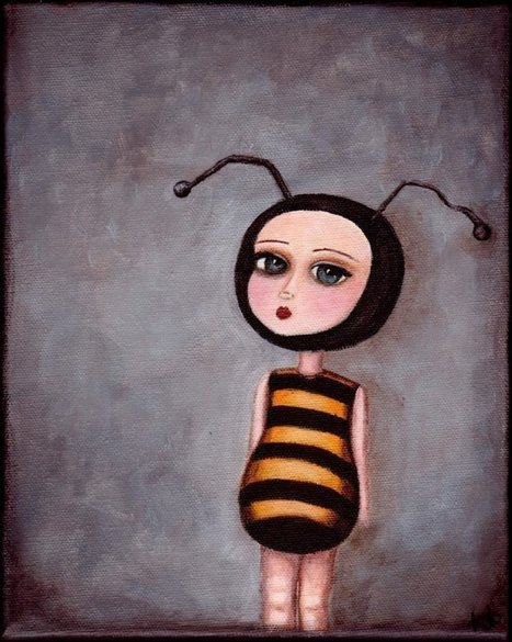 """Bee Girl"" acageybee 