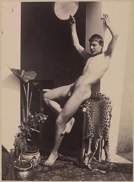 Vintage Nude Male On Leopard Skin Throw   Sex History   Scoop.it