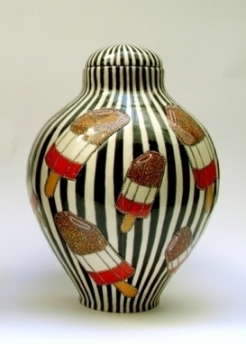 Artwork: Fab Ginger Jar - Open House Art | Art - Crafts - Design | Scoop.it