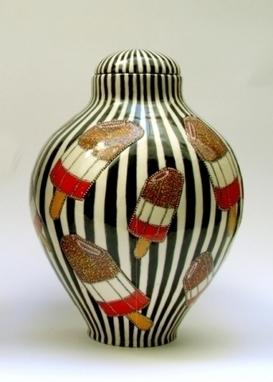 Artwork: Fab Ginger Jar - Open House Art | Art - Crafts - Design | Scoop.it