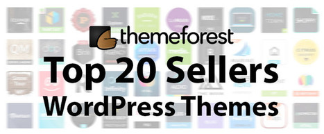 20 Top Selling WordPress Themes on ThemeForest | IT | Scoop.it