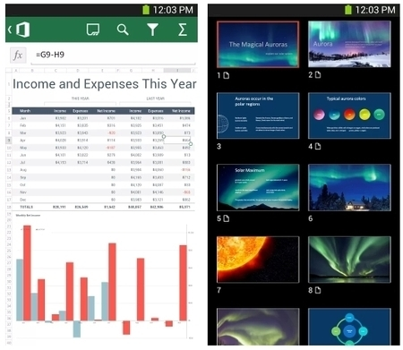 Microsoft Office Mobile hits Android (for Office 365 subscribers) | Do The Robot | Scoop.it