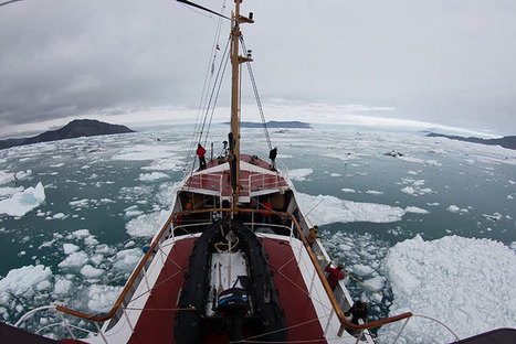 Greenland's undercut glaciers melting faster than thought | ichtyologie | Scoop.it