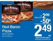 Hot! New $3/3 Red Baron Coupon – Only $1.49 at Kroger & More! | how to save money and make money with iherb.com | Scoop.it