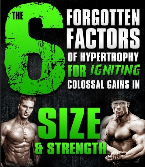 6 Scientifically-Proven Muscle-Building Strategies (FREE Report) | All About Health, Fitness & Wellness | Scoop.it