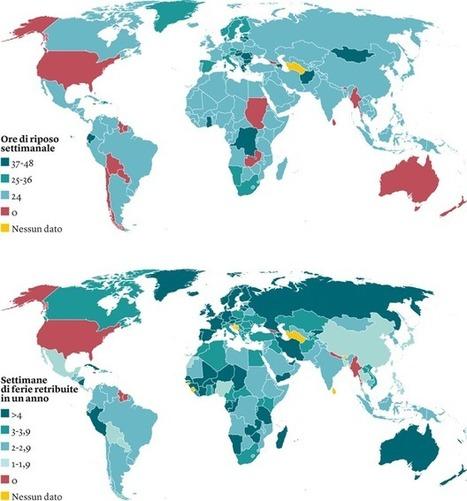 Società. Il tempo libero nel mondo, in una mappa - Internazionale | L' Equilibrio fra Vita e Lavoro- Work Life Balance | Scoop.it