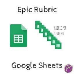 Updated: Epic Rubric on Google Sheets - via @alicekleer   TICs, tablets y otros gadgets en educación.   Scoop.it