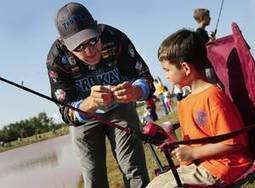 Tackle the Storm Foundation distributes free rod and reels at Kids Fishing ... - NewsOK.com | Useful Fishing Equipments | Scoop.it