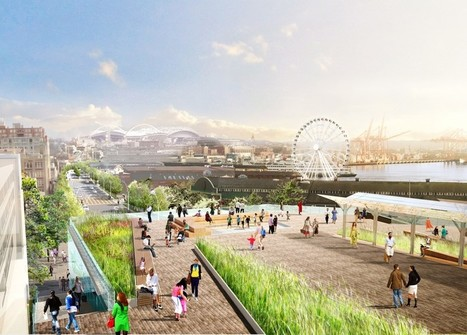 Seattle's Big Plans to Turn an Elevated Urban Highway Into a Waterfront Park | Urban Intelligence in Cities | Scoop.it