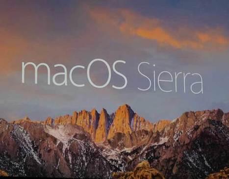 Tutti i dettagli di macOS Sierra, il sistema operativo di Apple appena rilasciato | sistemi operativi | Scoop.it