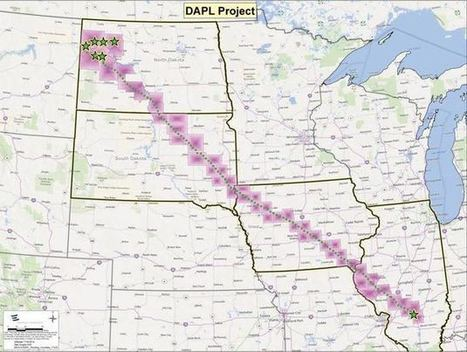 The Dakota Access Oil Pipeline Map and The Rights of Native Americans: The #NoDAPL Map | International Indigenous Issues | Scoop.it