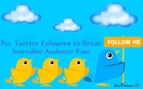 Buy Twitter Followers to Receive Excellent Online Engagement | Social Media Marketing | Scoop.it