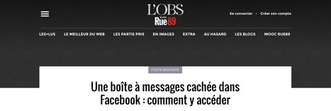 Une boîte à messages cachée dans Facebook : comment y accéder | Social Media - Marketing - Communication | Scoop.it