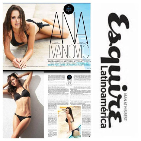 Photos : Ana Ivanovic en bikini sexy pour Esquire magazine ! | Starsnews | Scoop.it