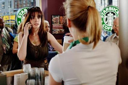 AnneHathaway_Starbucks.jpg (500x332 pixels) | Mercadotecnia cinematografica | Scoop.it