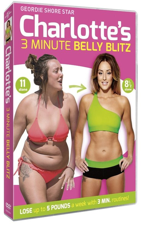New Workout DVD For 2015 - Charlotte Crosby's 3 Minute Belly Blitz | Useful Product Reviews | Scoop.it