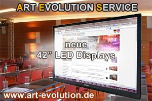 Art Evolution Service - Medientechnik - Displays | www.art-evolution.de | Scoop.it
