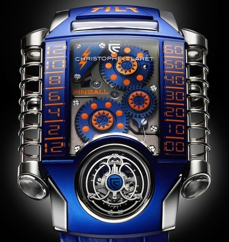 Christophe Claret X-Trem-1 Pinball | Total Watch Reviews | ONLY WATCH | Scoop.it