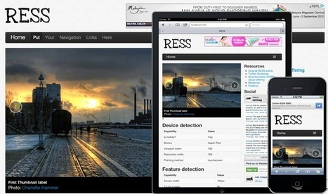 Getting started with RESS   Tutorial   .net magazine   Responsive design & mobile first   Scoop.it