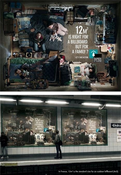 Plus de 500 publicités de Street Marketing extraordinaires ! | La publicité | Scoop.it