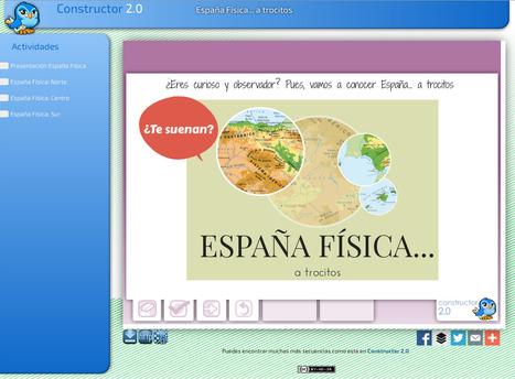 España Física...a trocitos. | Recursos Educativos para ESO, Geografía e Historia | Scoop.it