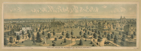 portland-metropolis-1888 | PDX water maps and messes | Scoop.it