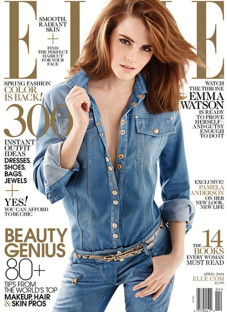 Emma Watson Talks First Kiss Fear, Envy of Other Actresses in 'Elle' | Celebrities | Scoop.it