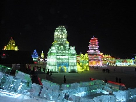 The Chinese Snow Sculpture Festival - a white fairy tale | Art and Interior Design | Scoop.it