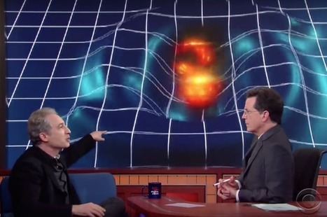 Watch Physicist Brian Greene Explain Gravitational Waves To Stephen Colbert | Crazy Science !! | Scoop.it