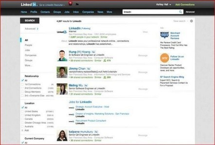 LinkedIn unveils new, unified search engine | Kit's social | Scoop.it