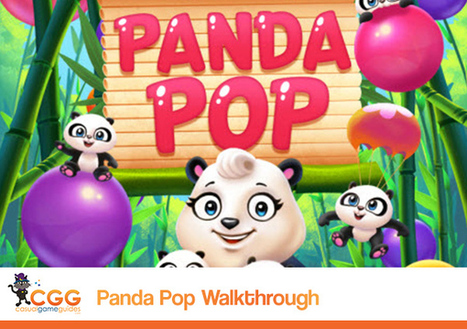 Panda Pop Walkthrough: From CasualGameGuides.com | Casual Game Walkthroughs | Scoop.it