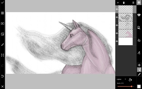 How to Draw a Unicorn with PicsArt | Drawing and Painting Tutorials | Scoop.it