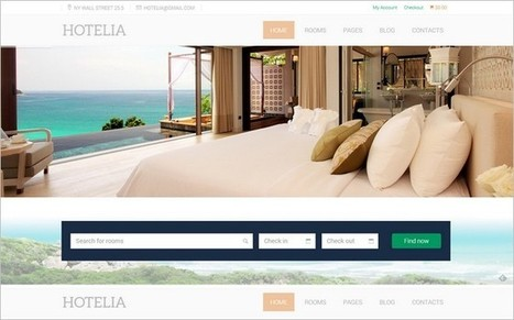 TeslaThemes Releases 2 WordPress Themes for Hotel and Travel | Free & Premium WordPress Themes | Scoop.it