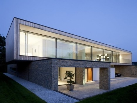 Hurst House by John Pardey Architects and Strom Architects | sustainable architecture | Scoop.it