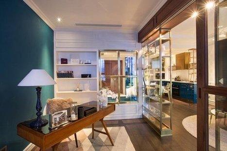 Mẫu thiết kế nội thất chung cư gam màu xanh navy đẳng cấp xa hoa - TDESIGN | ban buon quan ao tre em xuat khau | Scoop.it