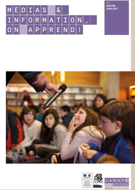 "Brochure CLEMI: ""Médias et Information, On Apprend"" 