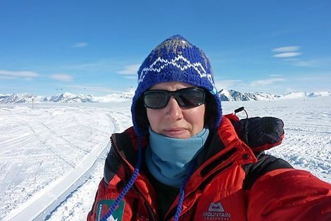 First woman in the world to traverse Antarctica solo! | Pop&Go ... | Women Who Dared | Scoop.it