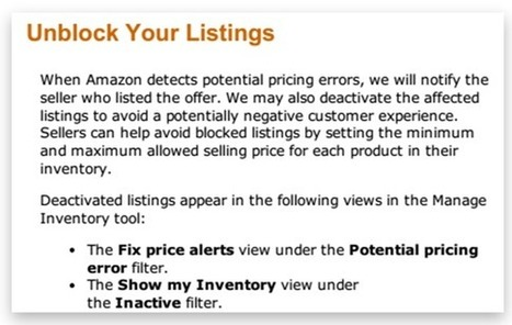 Safeguards to Prevent Repricing Issues on Amazon | Comparison Shopping | Scoop.it