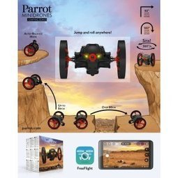 Parrot MiniDrone Jumping Sumo The Best High Tech Vehicle Toy At Consumer Electronic Show CES 2014 | Kid-FreeLiving.Com Kids Toys and Games | What's Interesting and Trending Around The Web, United States and The World | Scoop.it
