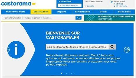 [MAJ] Le moteur de recherche de Castorama se fait pirater et provoque l'hilarité d'internet | digitalcuration | Scoop.it
