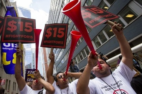 New Year, New Pay: 12 States' New Minimum-Wage Laws Go Into Effect On January 1st | INTRODUCTION TO THE SOCIAL SCIENCES DIGITAL TEXTBOOK(PSYCHOLOGY-ECONOMICS-SOCIOLOGY):MIKE BUSARELLO | Scoop.it