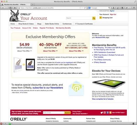 O'Reilly, un modelo de distribución editorial ejemplar, Blog Flores y Cemento | prueba | Scoop.it