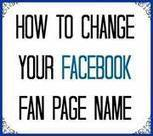 How to Change  Page Name | fb | Scoop.it